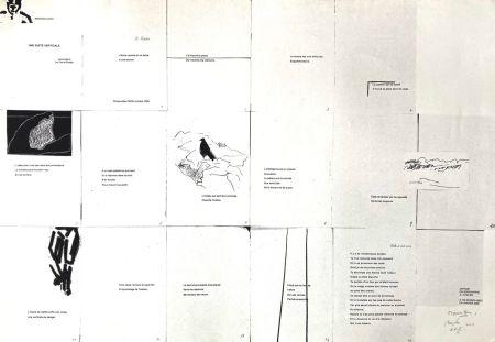 シルクスクリーン Buraglio - Une suite verticale