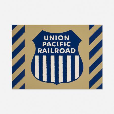 シルクスクリーン Cottingham - Union Station Railway