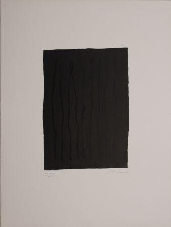 リトグラフ Santomaso - Untitled