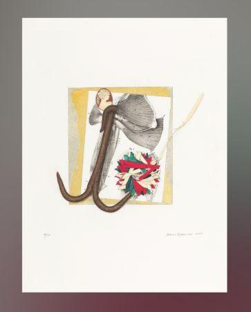 リトグラフ Spoerri - Untitled