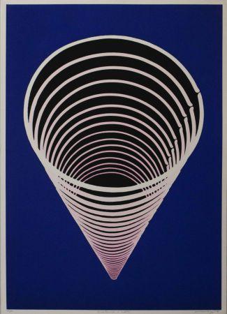 リノリウム彫版 Scirpa - Untitled