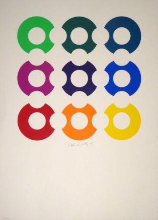 シルクスクリーン Vasarely - Untitled