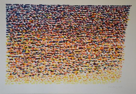 リトグラフ Dorazio - Untitled