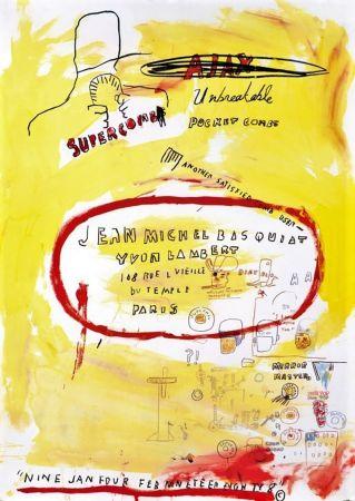 リトグラフ Basquiat - Untitled