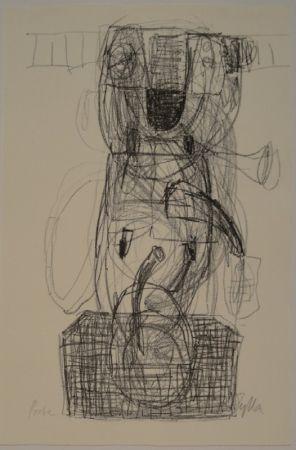 リトグラフ Zylla - Untitled