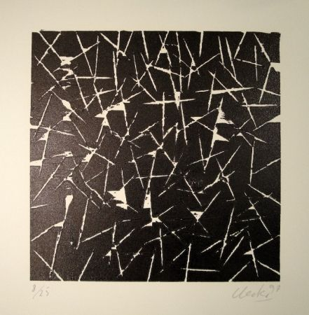 木版 Uecker - Untitled