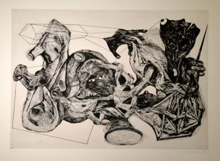 彫版 Schifferle - Untitled