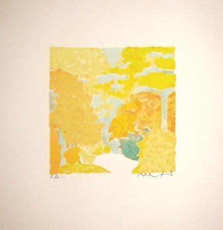 リトグラフ Muhl - Untitled