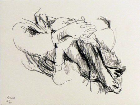 リトグラフ Caro - Untitled