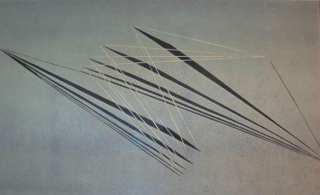 リノリウム彫版 Herberth - Untitled
