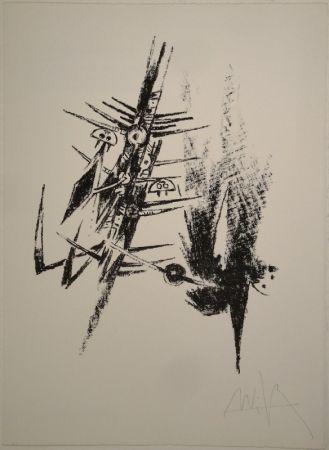 リトグラフ Lam - Untitled