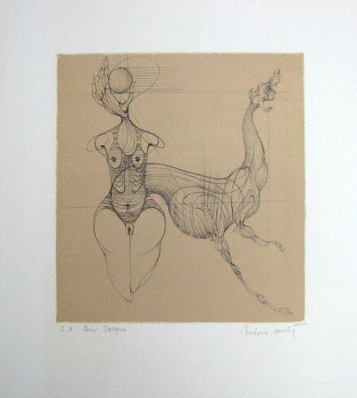 リトグラフ Bouché - Untitled