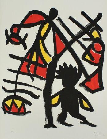 リトグラフ Ionesco - Untitled