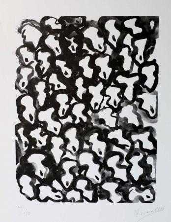リトグラフ Kounellis - Untitled