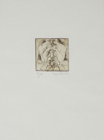 彫版 Fröhlich - Untitled