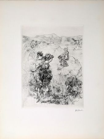 彫版 Bellmer - Untitled