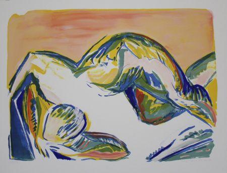 リトグラフ Dietrich - Untitled
