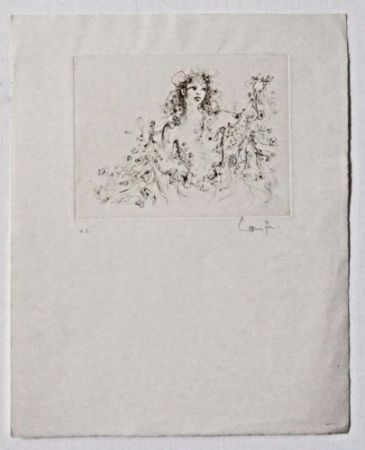 リトグラフ Fini - Untitled