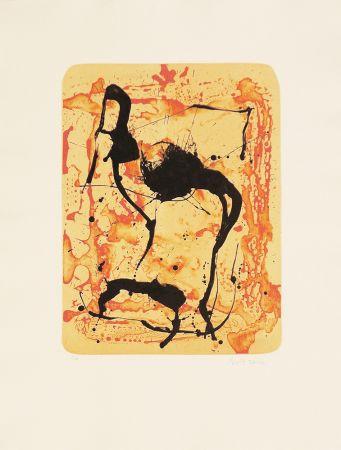 リトグラフ Bird - Untitled