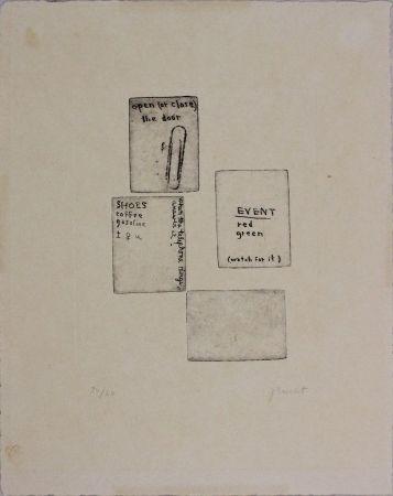 エッチング Brecht - Untitled