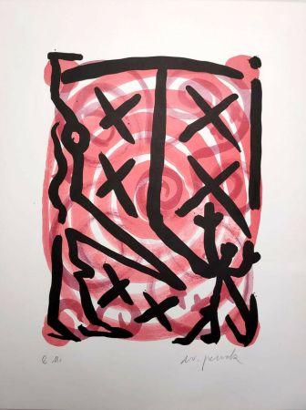 リトグラフ Penck - Untitled