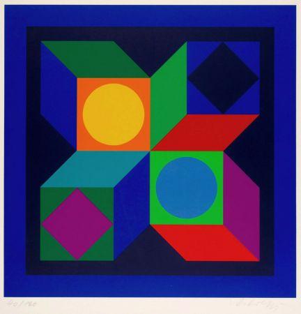 多数の Vasarely - Untitled