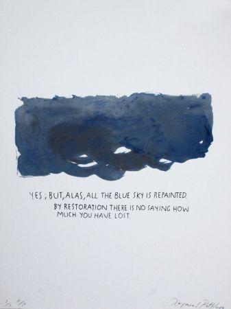 シルクスクリーン Pettibon - Untitled-Yes But Alas