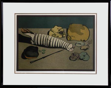リトグラフ Chemiakin - Untitled - Nature Morte