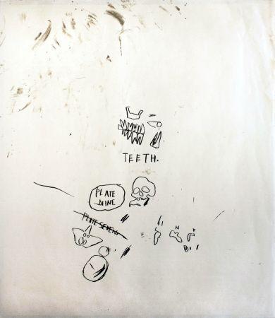 シルクスクリーン Basquiat - Untitled 3 (from Leonardo)