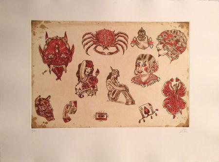 彫版 Lakra (Dr.) - Untitled, #8