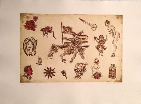 彫版 Lakra (Dr.) - Untitled, #9