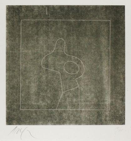 木版 Arp - Untitled (Abstraction)