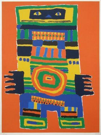 シルクスクリーン Soisson - Untitled abstraction