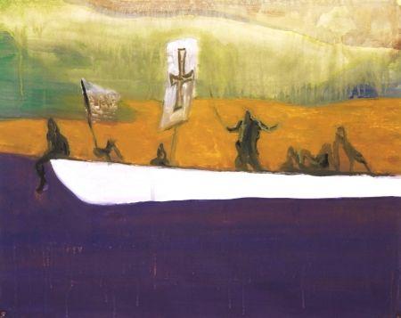 アクチアント Doig - Untitled (Canoe)