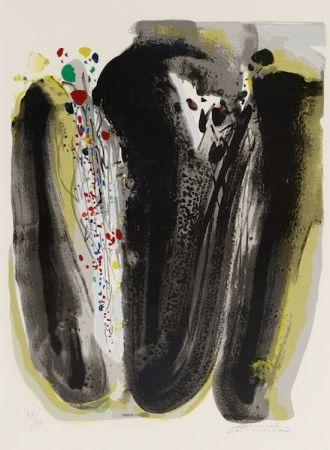 リトグラフ Teh-Chun - Untitled, Circa