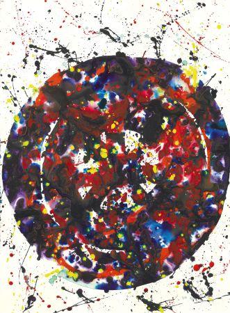 技術的なありません Francis - Untitled (Composition) 1976: Acrylic Painting