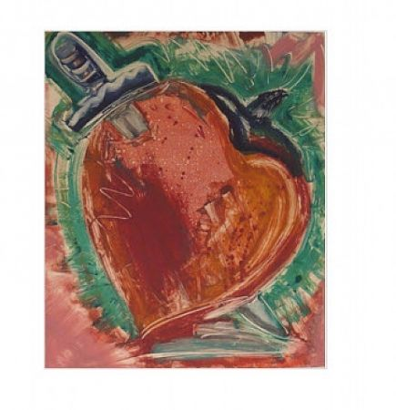 モノタイプ Flores - Untitled, Daggar in Heart