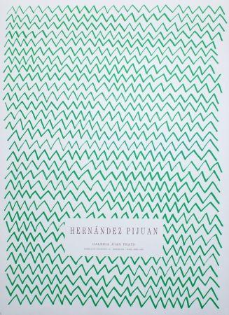 リトグラフ Hernandez Pijuan - Untitled (Exhibition poster)