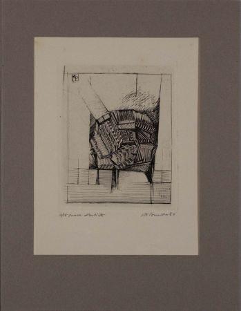 エッチング Pomodoro - Untitled from 'Avanguardia internazionale', vol. 4