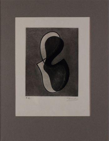 エッチング Domela - Untitled from 'Avanguardia internazionale', vol. 4