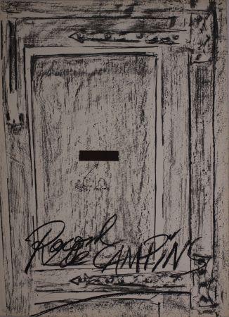 リトグラフ Tàpies - Untitled from 'Berlin Suite' portfolio