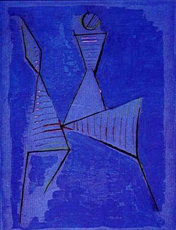 エッチングと アクチアント Marini - Untitled, from Goethe series