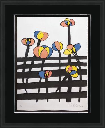 リトグラフ Calder - UNTITLED (FROM MAGIE EOLIENNE PORTFOLIO)
