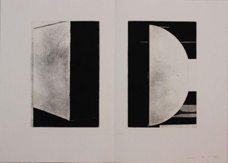 エッチングと アクチアント Gibson - Untitled from 'Metafora' portfolio