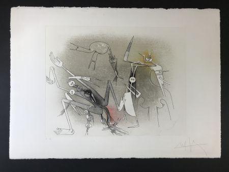 エッチングと アクチアント Lam - Untitled from ''Visible invisible folder''