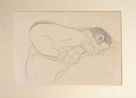 リトグラフ Klimt - Untitled I.III