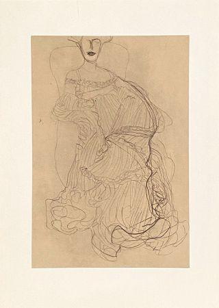 リトグラフ Klimt - Untitled II.XIV