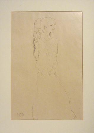リトグラフ Klimt - Untitled I.VI