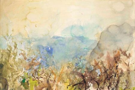 技術的なありません Zao - Untitled Landscape 1985