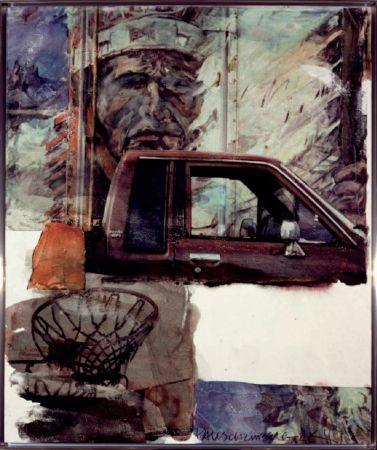 技術的なありません Rauschenberg - Untitled (Native American with Truck)